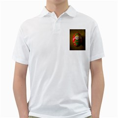 Christmas Wreath Ball Decoration Golf Shirts