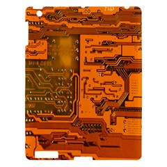 Circuit Apple Ipad 3/4 Hardshell Case by Nexatart
