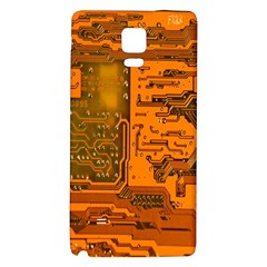Circuit Galaxy Note 4 Back Case by Nexatart