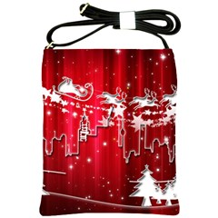 City Nicholas Reindeer View Shoulder Sling Bags