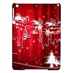 City Nicholas Reindeer View Ipad Air Hardshell Cases