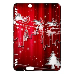 City Nicholas Reindeer View Kindle Fire HDX Hardshell Case