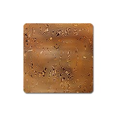 Circuit Board Pattern Square Magnet by Nexatart