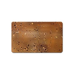 Circuit Board Pattern Magnet (name Card) by Nexatart