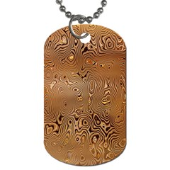 Circuit Board Pattern Dog Tag (one Side) by Nexatart