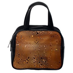 Circuit Board Pattern Classic Handbags (one Side) by Nexatart