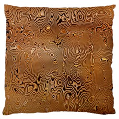 Circuit Board Pattern Large Cushion Case (two Sides) by Nexatart