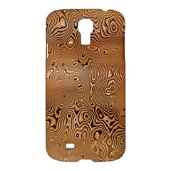 Circuit Board Pattern Samsung Galaxy S4 I9500/i9505 Hardshell Case by Nexatart