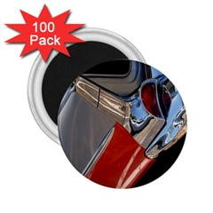 Classic Car Design Vintage Restored 2 25  Magnets (100 Pack)