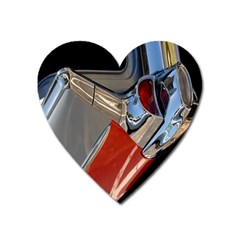 Classic Car Design Vintage Restored Heart Magnet by Nexatart