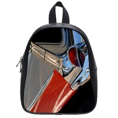 Classic Car Design Vintage Restored School Bags (small)  by Nexatart