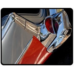 Classic Car Design Vintage Restored Double Sided Fleece Blanket (medium)  by Nexatart