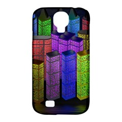 City Metropolis Sea Of Light Samsung Galaxy S4 Classic Hardshell Case (pc+silicone)