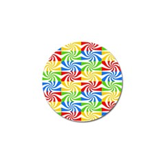 Colorful Abstract Creative Golf Ball Marker (10 Pack)