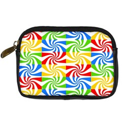 Colorful Abstract Creative Digital Camera Cases by Nexatart