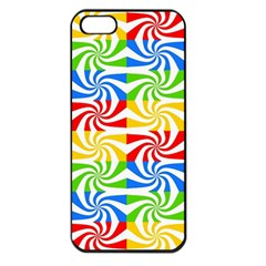 Colorful Abstract Creative Apple Iphone 5 Seamless Case (black) by Nexatart