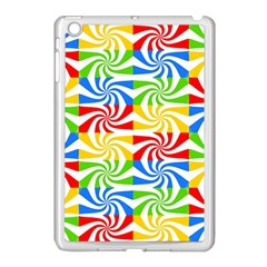 Colorful Abstract Creative Apple Ipad Mini Case (white) by Nexatart