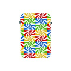 Colorful Abstract Creative Apple Ipad Mini Protective Soft Cases by Nexatart