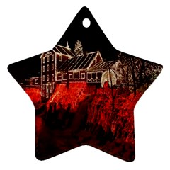 Clifton Mill Christmas Lights Ornament (star)