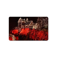Clifton Mill Christmas Lights Magnet (name Card)