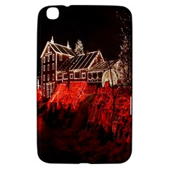 Clifton Mill Christmas Lights Samsung Galaxy Tab 3 (8 ) T3100 Hardshell Case