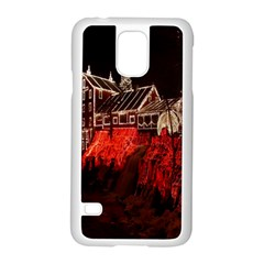 Clifton Mill Christmas Lights Samsung Galaxy S5 Case (white)