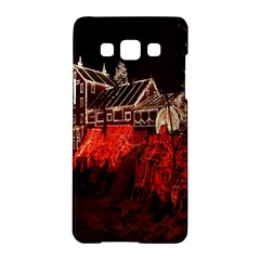 Clifton Mill Christmas Lights Samsung Galaxy A5 Hardshell Case