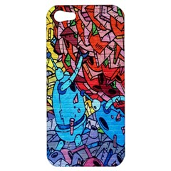 Colorful Graffiti Art Apple Iphone 5 Hardshell Case