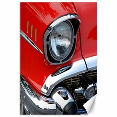 Classic Car Red Automobiles Canvas 12  X 18   by Nexatart