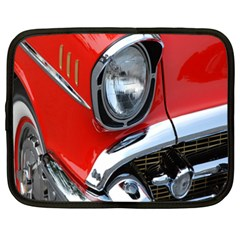 Classic Car Red Automobiles Netbook Case (xxl)  by Nexatart
