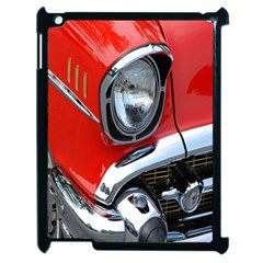 Classic Car Red Automobiles Apple Ipad 2 Case (black)