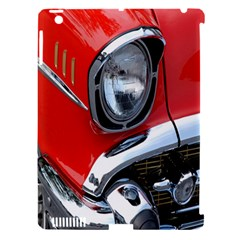 Classic Car Red Automobiles Apple Ipad 3/4 Hardshell Case (compatible With Smart Cover) by Nexatart