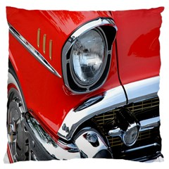 Classic Car Red Automobiles Large Cushion Case (two Sides) by Nexatart