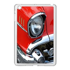 Classic Car Red Automobiles Apple Ipad Mini Case (white) by Nexatart