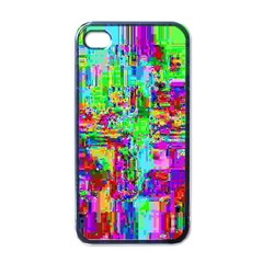 Compression Pattern Generator Apple Iphone 4 Case (black)