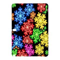 Colourful Snowflake Wallpaper Pattern Samsung Galaxy Tab Pro 12 2 Hardshell Case