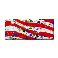 Confetti Star Parade Usa Lines Cosmetic Storage Cases by Nexatart
