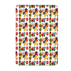 Construction Pattern Background Samsung Galaxy Tab 2 (10 1 ) P5100 Hardshell Case