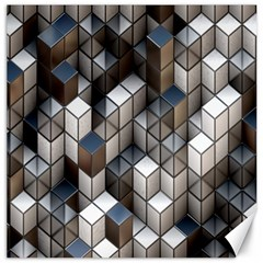 Cube Design Background Modern Canvas 20  X 20