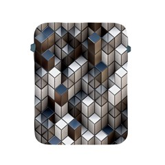 Cube Design Background Modern Apple Ipad 2/3/4 Protective Soft Cases