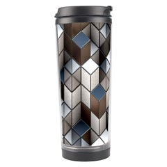 Cube Design Background Modern Travel Tumbler
