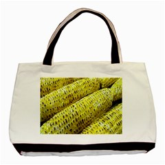 Corn Grilled Corn Cob Maize Cob Basic Tote Bag (two Sides)