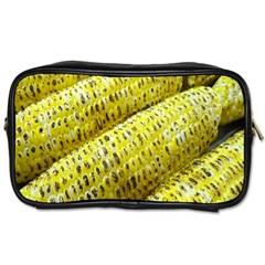 Corn Grilled Corn Cob Maize Cob Toiletries Bags 2 Side