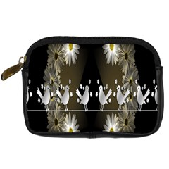Daisy Bird  Digital Camera Cases by Nexatart