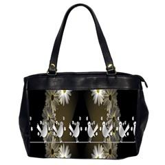 Daisy Bird  Office Handbags (2 Sides)