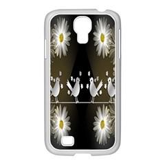 Daisy Bird  Samsung Galaxy S4 I9500/ I9505 Case (white)