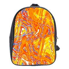 Crazy Patterns In Yellow School Bags(large)