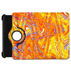 Crazy Patterns In Yellow Kindle Fire Hd 7  by Nexatart