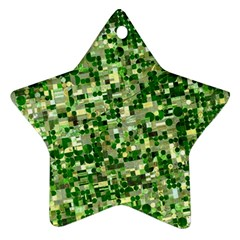Crops Kansas Ornament (star)