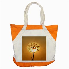 Dandelion Sun Dew Water Plants Accent Tote Bag by Nexatart